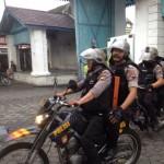 Pengamanan di Kompleks Keraton Kasunanan Surakarta Hadiningrat, Kamis (23/3/2017). Eddy Wirabhumi Cs. harus mengosongkan Keraton paling lambat Kamis pukul 17.00 WIB. (Sunaryo Haryo Bayu/JIBI/Solopos)