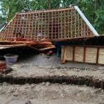 ANGIN KENCANG SRAGEN : Puting Beliung Terjang 3 Kecamatan, 2 Rumah Roboh
