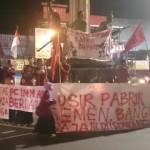DEMO SUKOHARJO : Tuntut Pencabutan Izin Pabrik Semen Kendeng, IMM Gelar Aksi Diam
