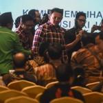 1 Jam Menunggu, Ahok-Djarot Walkout dari Pleno KPU DKI Jakarta