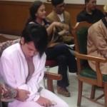 Sidang Perdana, Aming-Evelyn Tak Saling Tegur di Pengadilan