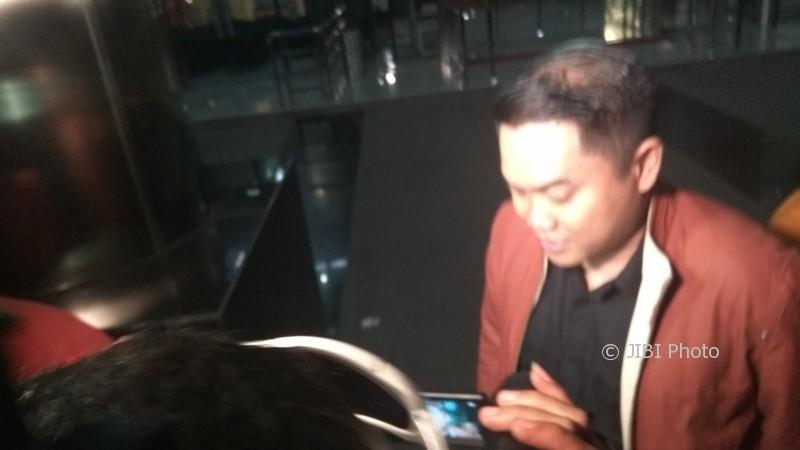 Anak Bupati Klaten, Andy Purnomo diperiksa KPK, Senin (27/3/2017). (Okezone.com)
