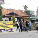 Pemuda Sragen Bagikan 1.000 Masker Bagi Pengguna Jl HOS Cokroaminoto