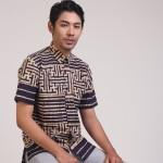 FASHION BATIK : Tampil Gagah dengan Kemeja Batik Bold Striped