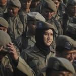 Dihadiri Gubernur Ganjar Pranowo, Satpol PP dan Satlinmas Gelar Pasukan di Solo