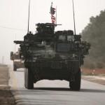 Kendaraan militer AS di Suriah. (JIBI/Reuters)
