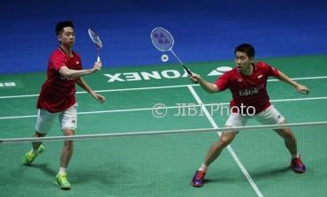 Kevin Sanjaya Sukamuljo dan Marcus Fernaldi Gideon (JIBI/Reuters/Andrew Boyers)