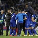 LIGA CHAMPIONS : Lolos ke Perempatfinal, Leicester Punya Sejarah Baru