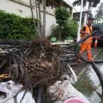 BANJIR JAKARTA : Polisi Telusuri Motif Limbah Kabel di Gorong-Gorong