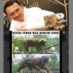 Ahok dan TNI Ikut Tren Guyonan Macan Lucu Cisewu
