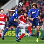 LIGA INGGRIS : Fellaini Bawa MU Ungguli Middlesbrough di Babak I