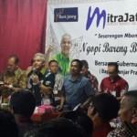 Ngopi Bareng Biar Gayeng Bersama Gubernur Jawa Tengah @ganjarpranowo di Kec Kedungjati, Kab Grobogan. (Twitter.com-Kominfo_jtg)