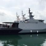 2 Kapal Perang Buatan Dalam Negeri Gabung Koarmabar