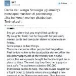 Pria Norwegia Cerita Kebaikan Orang Indonesia Saat Anaknya Kecopetan