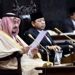 Raja Salman Datang, SBY Muncul, Megawati Absen