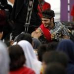 Ravi Bhatia Meriahkan Kejutan ANTV di Lapangan Baturan Colomadu Karanganyar