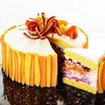 Salad Cake di kafe Vegedeco Salad (Pinterest)
