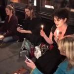 Sejumlah penyihir yang melakukan ritual magis untuk melengserkan Trump (Dailymail.co.uk)