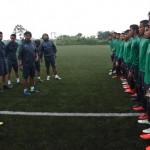 Seleksi pemain Timnas U-19 (ANTARA /Indrianto Eko Suwarso)