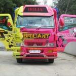 Salah satu truk milik Heri Purwanto, 32, (Rudi Hartono/JIBI/Solopos)