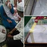 Pernikahan dengan mahar kain kafan. (Istimewa/Facebook)