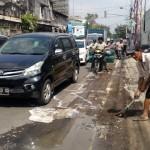 KECELAKAAN SOLO : Hindari Bekas Galian Pipa, Warga Sragen Jatuh Lalu Terlindas Truk di Jl. Juanda