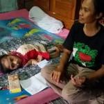 KISAH TRAGIS : Bocah Madiun Lumpuh dan Tulangnya Bengkok Sejak Berusia 2 Tahun