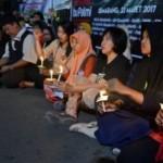 PABRIK SEMEN PATI : Semangat Korban Aksi Semen Kaki Diharapkan Berlanjut