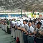 Pecahkan Rekor Muri, 30.108 Pelajar Sragen Berikrar Cinta Damai