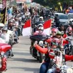 LALU LINTAS SEMARANG : Konvoi Moge Tak Diberi Prioritas, Netizen Puji Pengguna Jalan