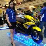 SEPEDA MOTOR TERBARU : Aerox 155VVA Berhasil Merebut Perhatian Konsumen di Jogja