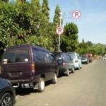 PARKIR SEMARANG : Parkir di Ambarawa Semrawut, Netizen Mengeluh