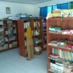 Kondisi perpustakaan SD Kranggan yang masih memanfaatkan salah satu ruang kelas kosong di sekolah tersebut, Rabu (22/3/2017). (Arief Junianto/JIBI/Harian Jogja)
