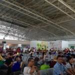 Masih Diinvestigasi, Ini Penampakan Plafon Bandara Supadio Setelah Runtuh