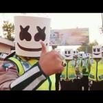 KISAH UNIK : Polisi Grobogan Tiru Gaya Marshmello