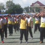 Uji Kesamaptaan, Polres Sukoharjo Pantau Kebugaran Polisi Gendut