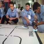 KONTES ROBOT : 182 Pelajar Ikuti Kontes Roboline Polines