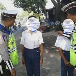 KENAKALAN REMAJA : Dihentikan Polisi Saat Kendarai Motor, Siswa SMP Jadi Gunjingan