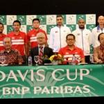 DAVIS CUP : Tim Indonesia Berharap Tuah Gelora Manahan