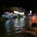 BANJIR SUKOHARJO : Solo Baru Banjir, Lalu Lintas Sempat Tersendat