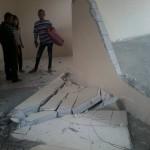 PASAR KLEWER : Tembok Ambrol Dihantam Troli, PT Adhi Karya Sebut Tak Ada Kesalahan Konstruksi