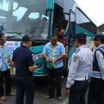 TRANSPORTASI KARANGANYAR : Langgar Aturan, 9 Pengemudi Bus Dapat Surat Tilang dan Pembinaan