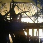 KEBAKARAN WONOGIRI : Ditinggal Memancing, Rumah Warga Pracimantoro Habis Terbakar