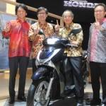 MOTOR BARU : Honda Luncurkan Skutik Premium Bergaya Eropa