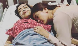 Anggia kabarkan kondisi Jupe (Instagram @anggietheperez)