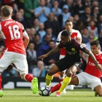 LIGA INGGRIS : Babak I, City Ungguli Arsenal 2-1