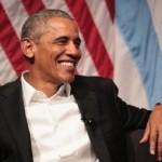 Barack Obama dalam pertemuan di University of Chicago (Cnn.com)