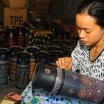 FOTO KERAJINAN SALATIGA : Batik Bambu Oleh-Oleh Khas Salatiga