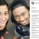 Didit berfoto dengan Dian Sastro (Instagram @diditafrizal)