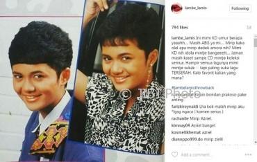 Foto lawas Krisdayanti yang bikin salah fokus (Instagram @lambe_lamis)